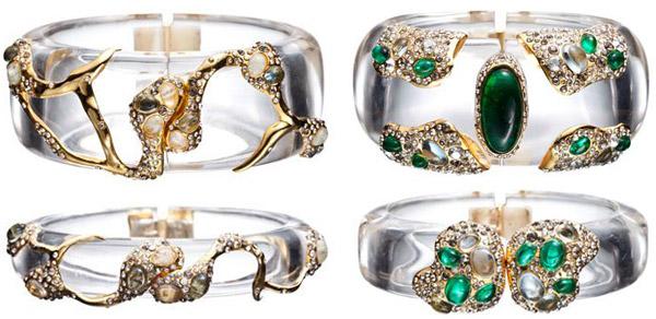 Alexis Bittar Spring 2012 Cuff Bracelets