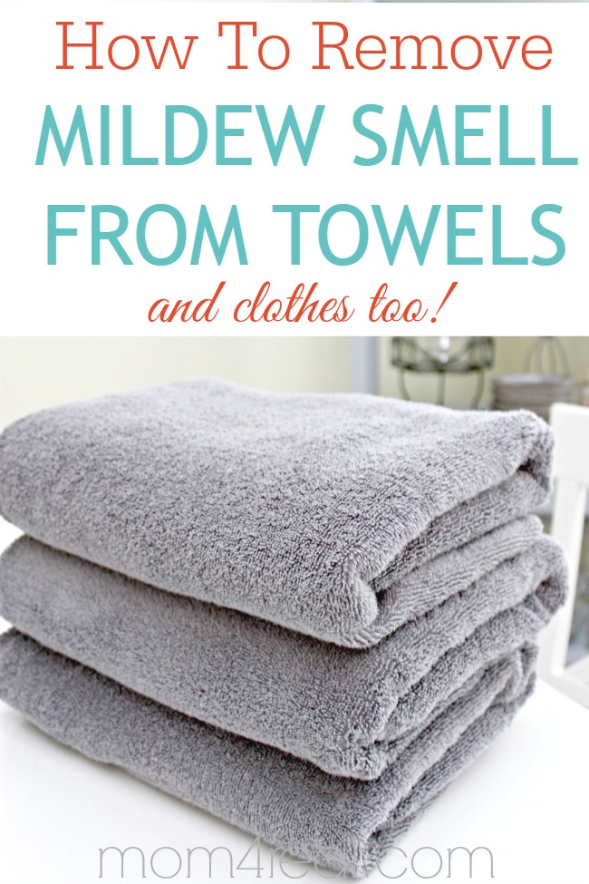 How To Remove Mildew Smell From Towels And Clothes
