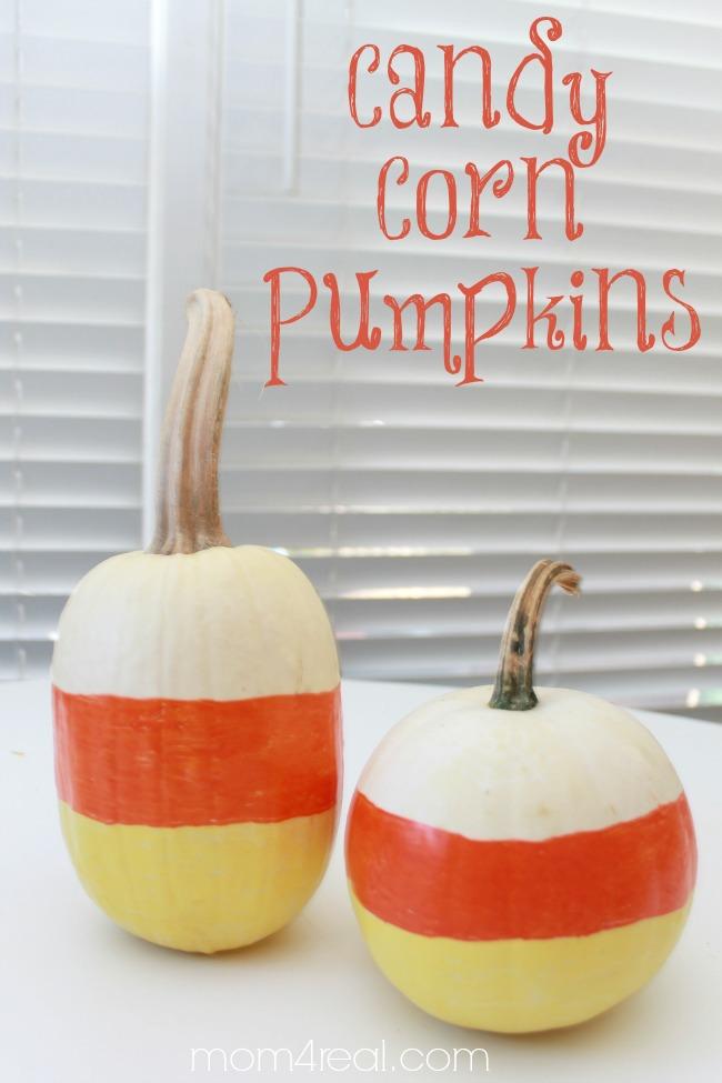 Spray Paint Cone Shaped Pumpkins To Look Like