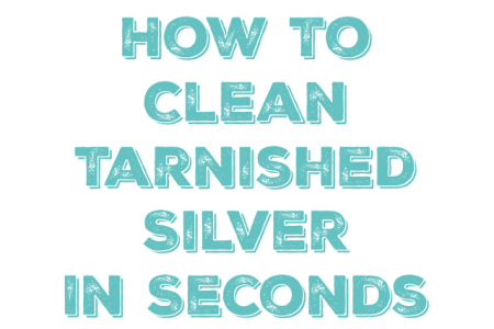 How To Clean Silver and Remove Tarnish   Mom 4 Real How To Clean Silver and Remove Tarnish