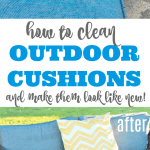 How To Clean Outdoor Cushions And Save Your Money