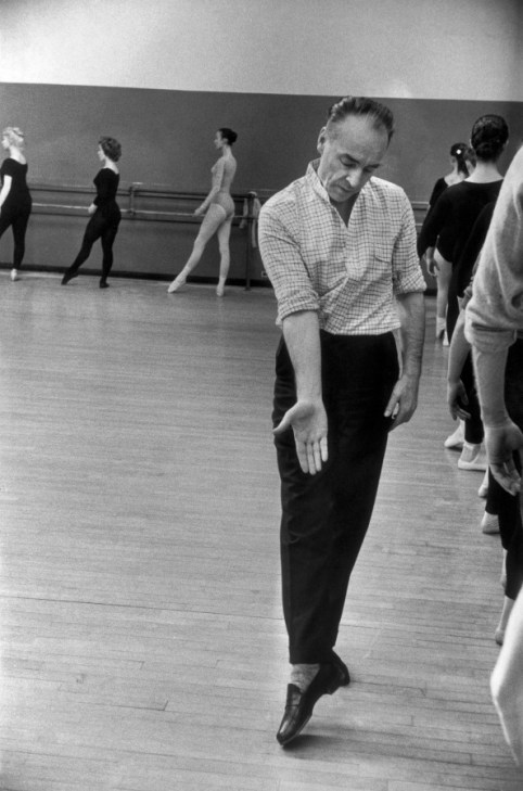 George Balanchine in Class