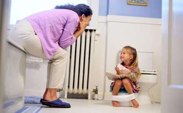how to potty train kid in one week