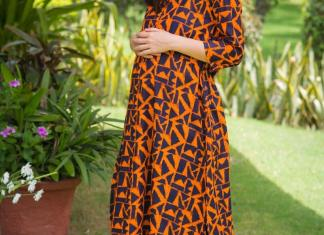 Amber front zip cotton nursing kurta
