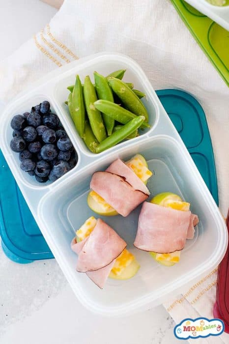 Hum, Apple And Cheese Wraps