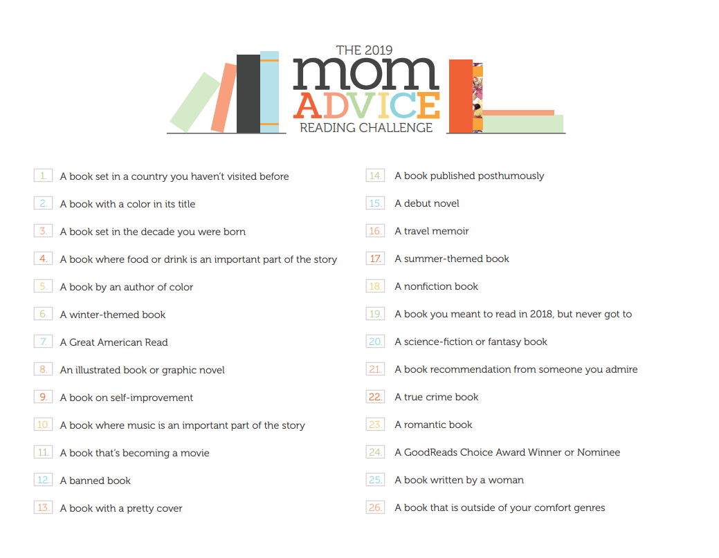 The Momadvice Reading Challenge Free Printable