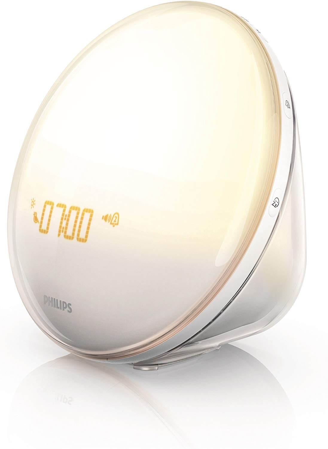 sunrise light alarm clock