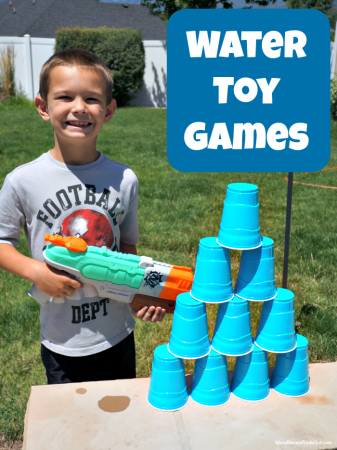 Beat the Heat with Water Gun Games   Outdoor Fun For Kids of All Ages nerf water gun games