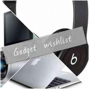 Gadget Wishlist