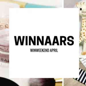Winweekend April, and the winners are…..