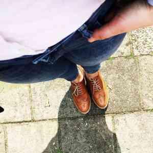 Klassieke veterschoenen voor de stoere mama