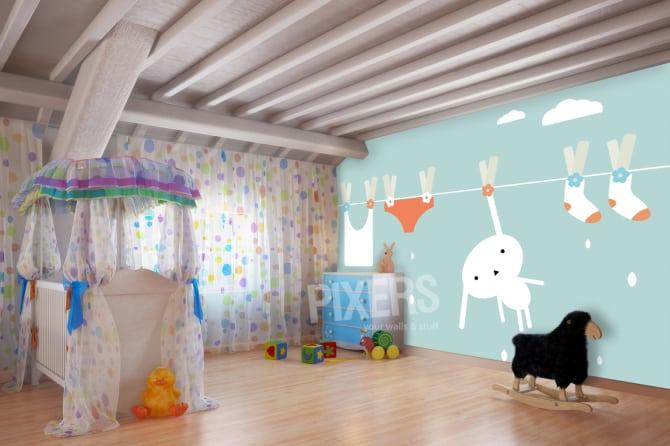 fotobehang voor de kinderkamer