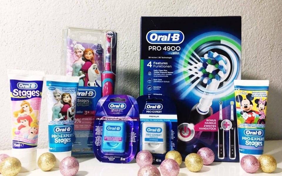Elektrisch poetsen met het hele gezin oral B