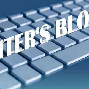 Tekort aan inspiratie of writers block?