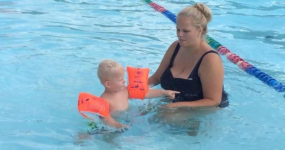 openlucht zwemmen