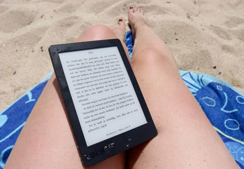reizen digitaal lezen kobo aura 2 e-reader