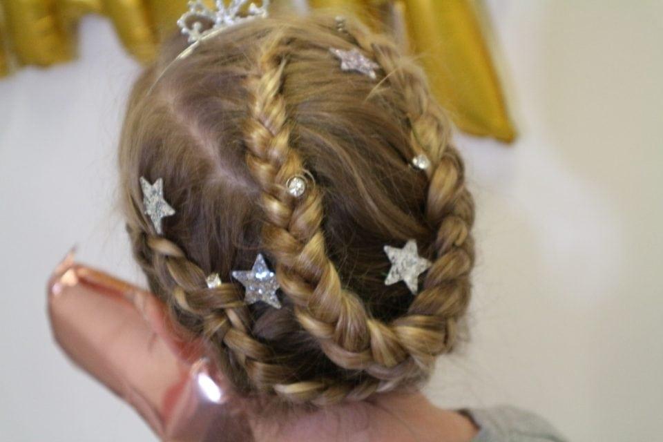 Zenner Zelf feestelijke meisjes kapsels maken