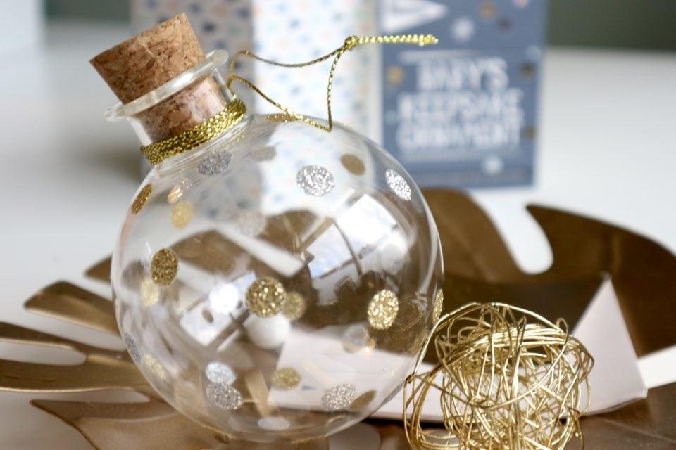 mooiste herinneringen Milestone baby's keepsake ornament mooiste herinneringen van je kind