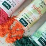 badparels van Kneipp kneipp badparels review momambition