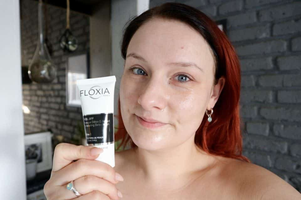 floxia exfoliating detox mask review momambition anti aging