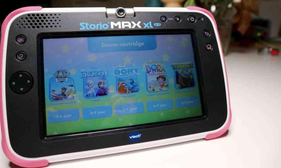 REVIEW STORIO MAX XL 2.0 | VTech bloghop | WIN Momambition.nl Kindertablet tablet voor kinderen
