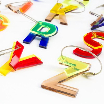 ABC Key Chains