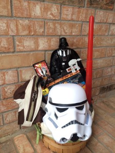 Star Wars Themed Easter Basket