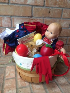 Snow White Themed Easter Basket