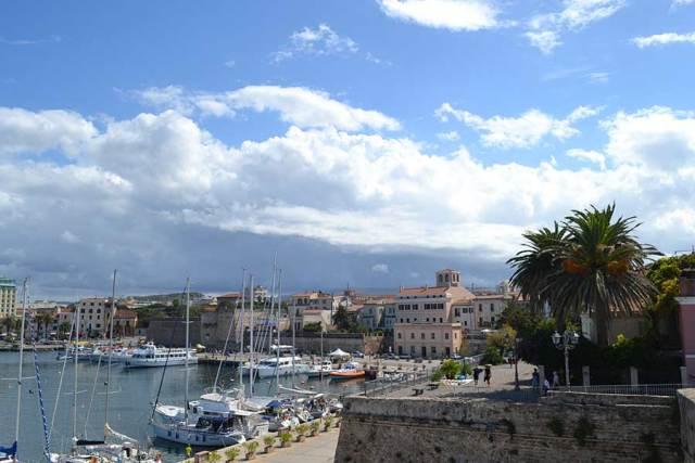 Alghero, vista sul porto