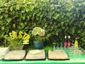 Hungry worm decor supplied by Limitless events.