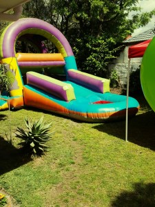 Jumping castle provided by Cape Party Hire