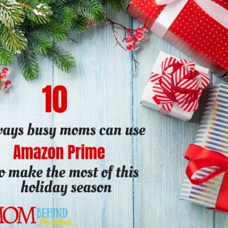 "Tips for ways for busy moms to use Amazon Prime to help make it through the holidays! The top 10 reasons you need Amazon Prime Membership this holiday season - from last minute free gift shipping, Christmas movies and shows, your favorite Christmas music, and keeping the kids busy while you do ""Santa Things."" #Christmasgifts #christmastips #amazonprime #busymom #ad"