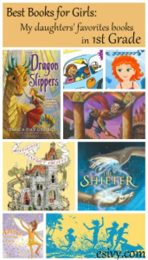 Best Books for Girls 1st grade