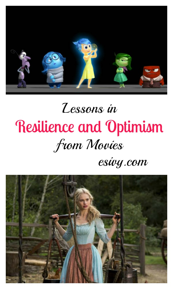 Lessons in Resilience and Optimism from Cinderella and Inside Out