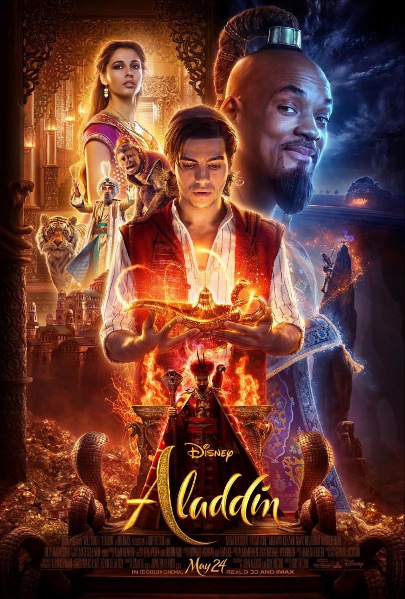 Is Disney's 2019 Aladdin movie scary for kids?