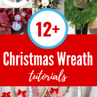 12+ DIY Christmas Wreath Ideas & Tutorials