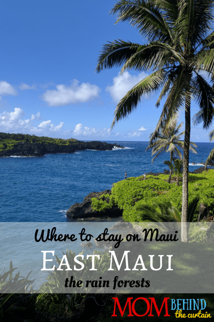 East Maui is where you'll find lush tropical rainforests and the black sand beaches of paradise! - Where to stay on Maui