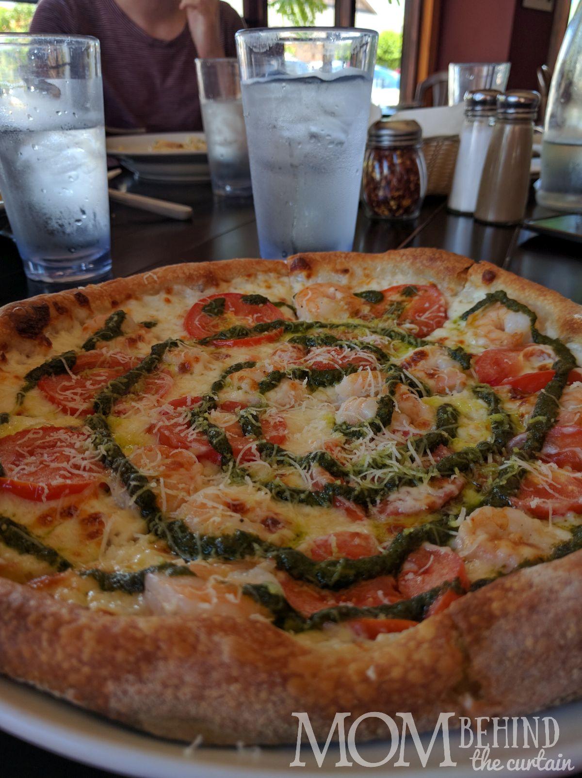 pizza Fabiani's Maui