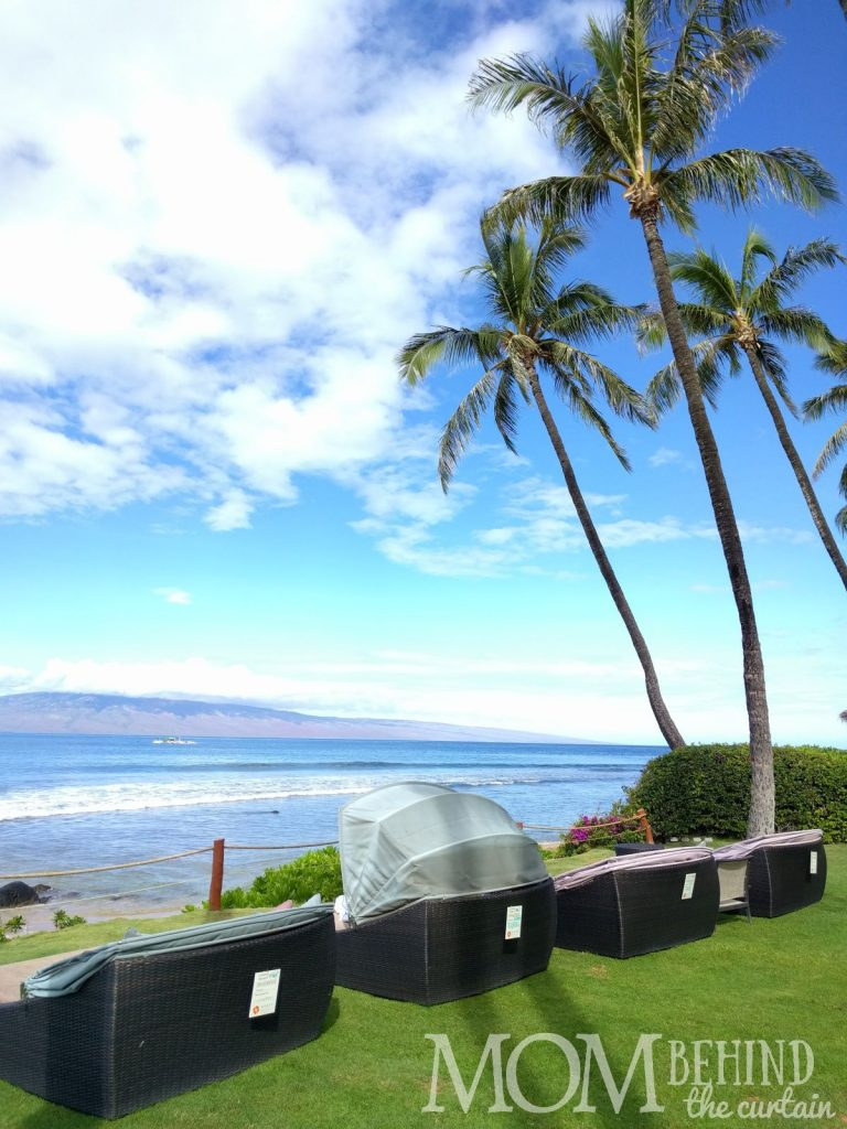 Hyatt Regency Maui beach rental - cabana