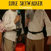 Star Wars Luke Skywalker DIY costume