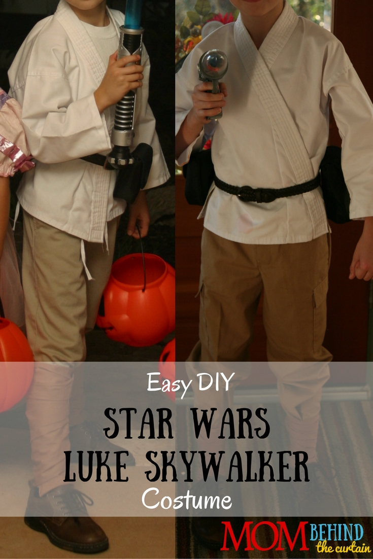 My son loved Star Wars so much that he wanted to be Luke Skywalker for Halloween more than once! Lucky for me it's easy to pull together the pieces for a DIY costume. I show you everything we used.