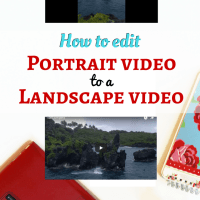 How to convert portrait video to landscape for free