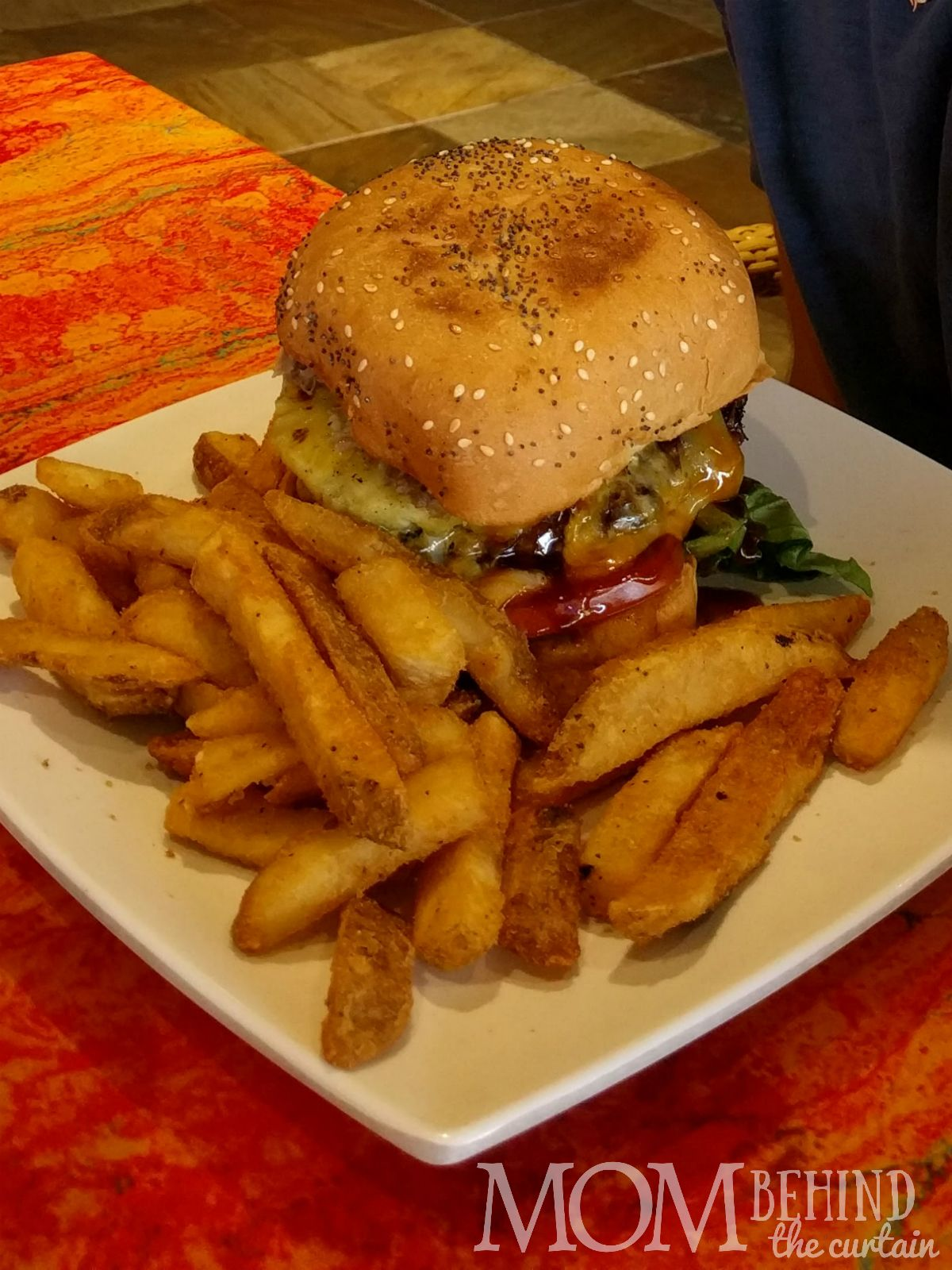 Best burger on the beach Ka'anapali Grille & Tap Room
