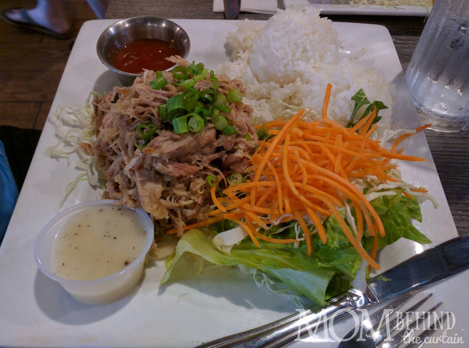 Best dinner on Maui, pulled porkDa Kitchen Cafe, Kahului