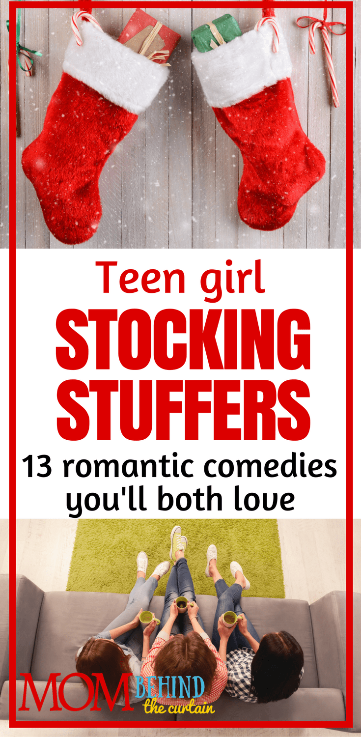A list of the best rom-com movies for teen girls, for mothers and daughters to watch together on girls night. Our 13 favorites of the best romantic comedies from the 90's till now. These make great stocking stuffer Christmas and holiday gifts!