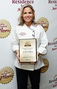 Cat Cora Named 2013 Resident Mom