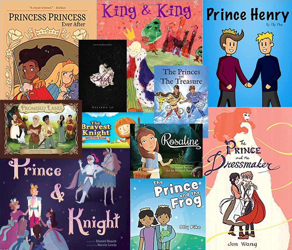 fairytales traditional stories retold for gay men