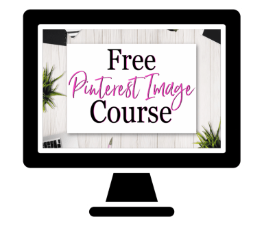 Pinterest Image Course - mom blog from home