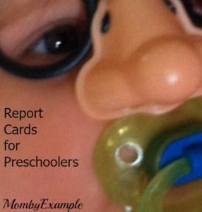 report cards for presc