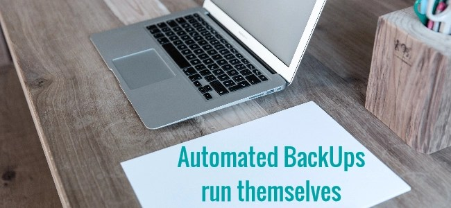 how to backup wordpress automated for free